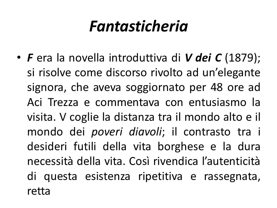 Fantasticheria