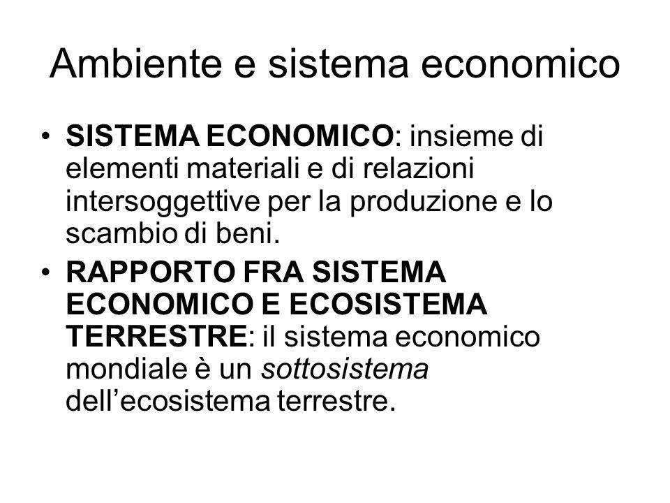 Ambiente e sistema economico