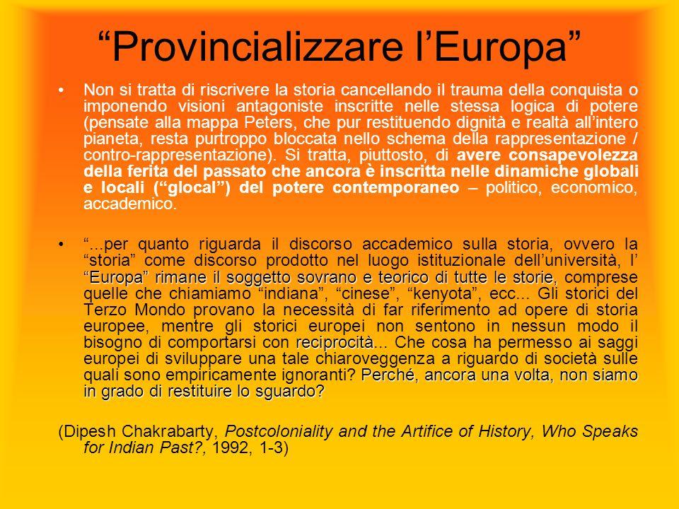 Provincializzare l'Europa