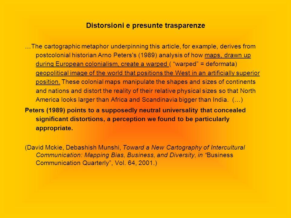 Distorsioni e presunte trasparenze