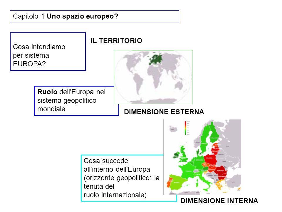 Capitolo 1 Uno spazio europeo
