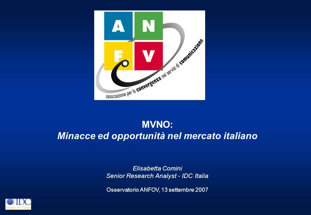 Minacce ed opportunità nel mercato italiano