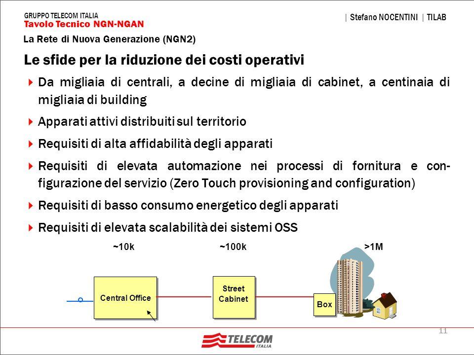 Le sfide per la riduzione dei costi operativi