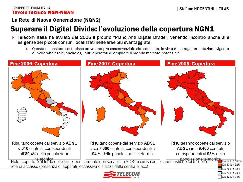 Superare il Digital Divide: l'evoluzione della copertura NGN1