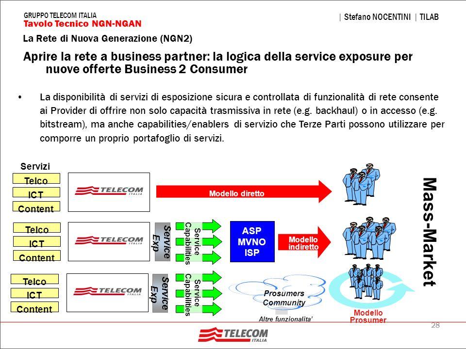 Aprire la rete a business partner: la logica della service exposure per nuove offerte Business 2 Consumer