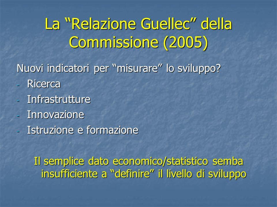 La Relazione Guellec della Commissione (2005)