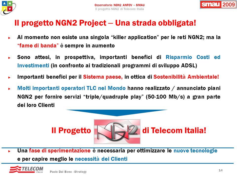 Il progetto NGN2 Project – Una strada obbligata!
