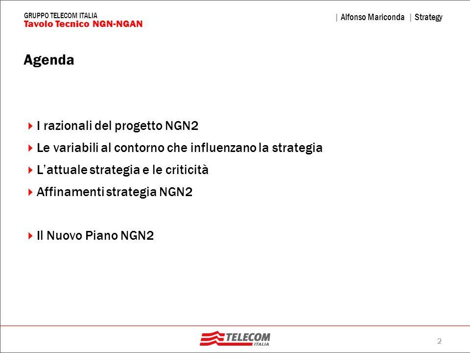 Agenda I razionali del progetto NGN2