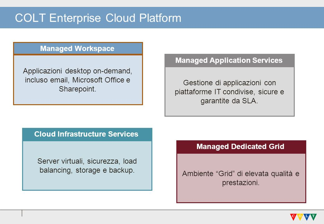 COLT Enterprise Cloud Platform