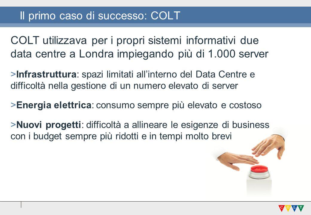 Il primo caso di successo: COLT