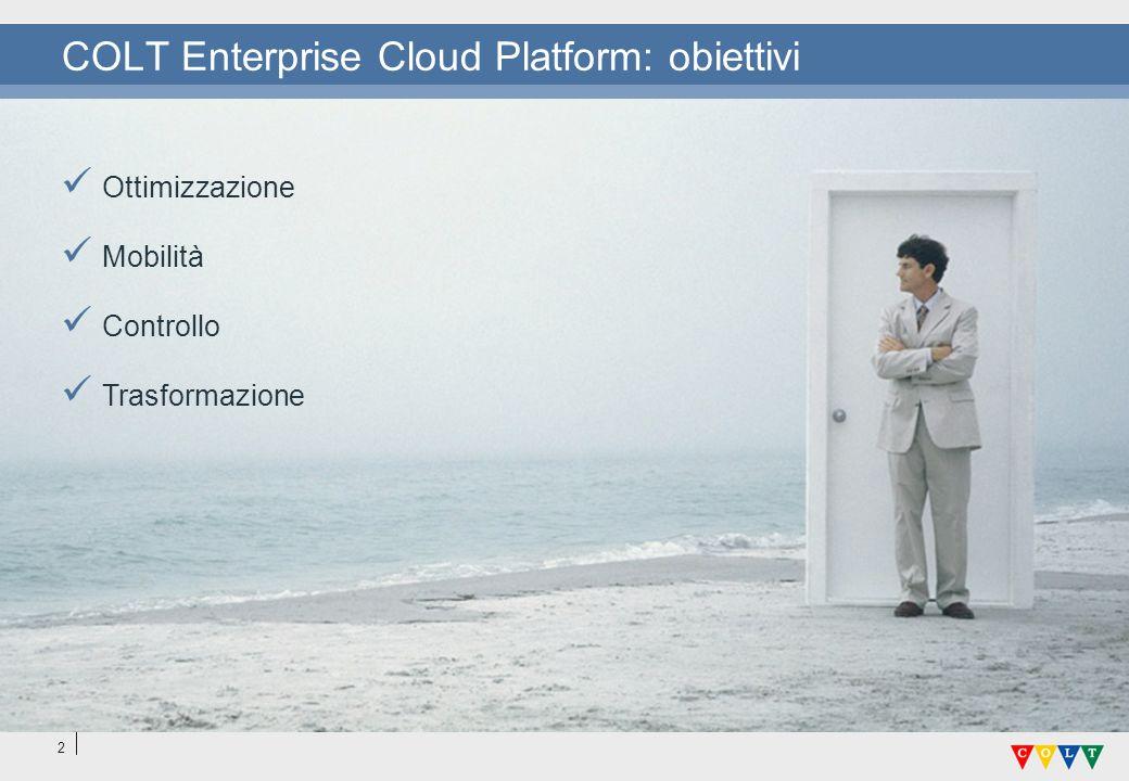 COLT Enterprise Cloud Platform: obiettivi