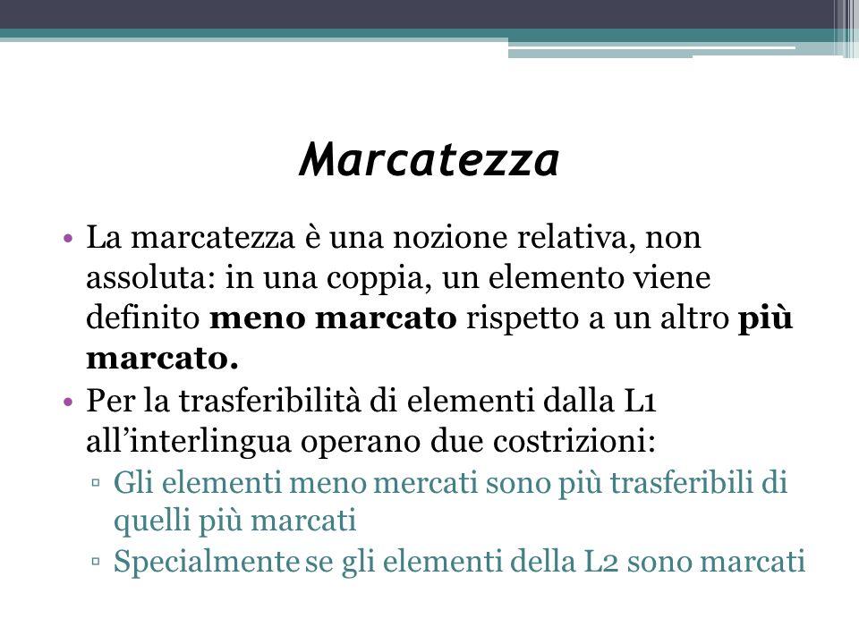 Marcatezza