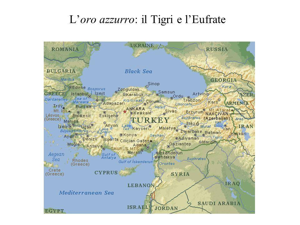 L'oro azzurro: il Tigri e l'Eufrate