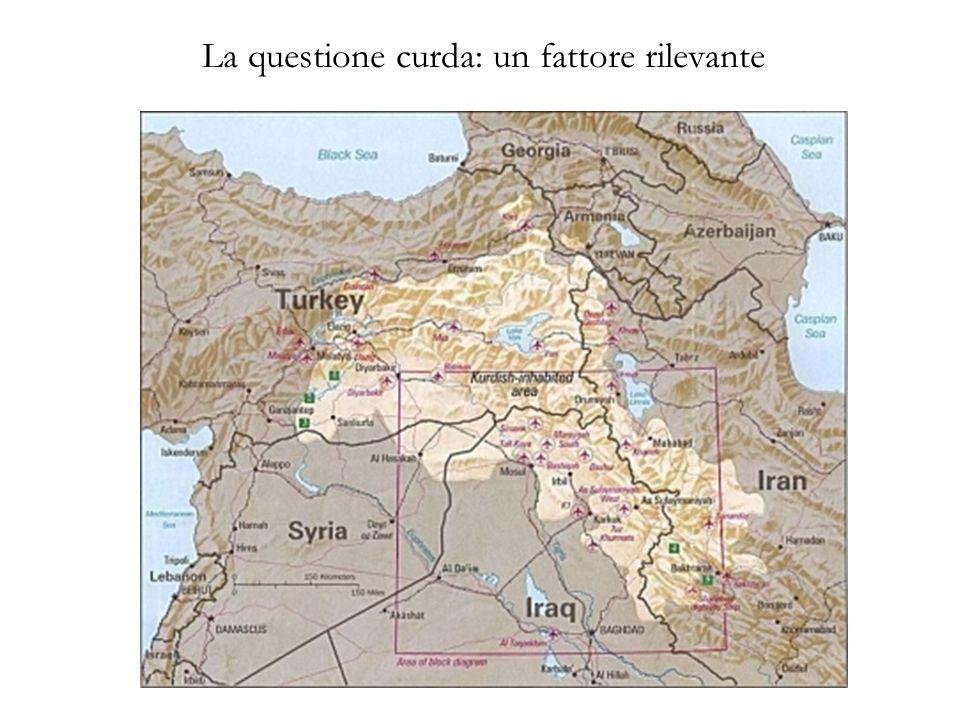 La questione curda: un fattore rilevante