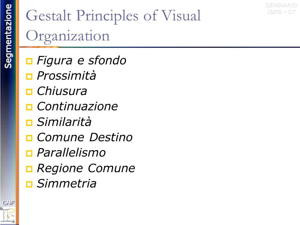 Gestalt Principles of Visual Organization