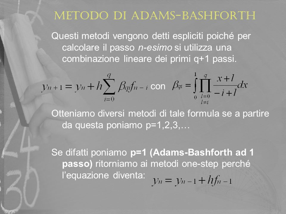 Metodo di adams-bashforth