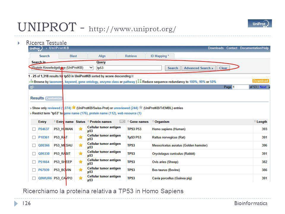 UNIPROT - http://www.uniprot.org/