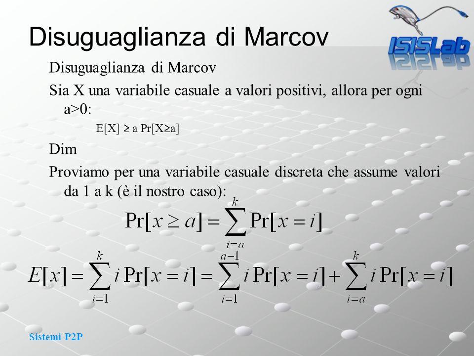 Disuguaglianza di Marcov