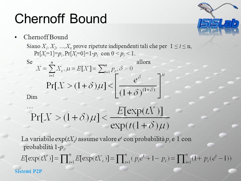 Chernoff Bound Chernoff Bound …