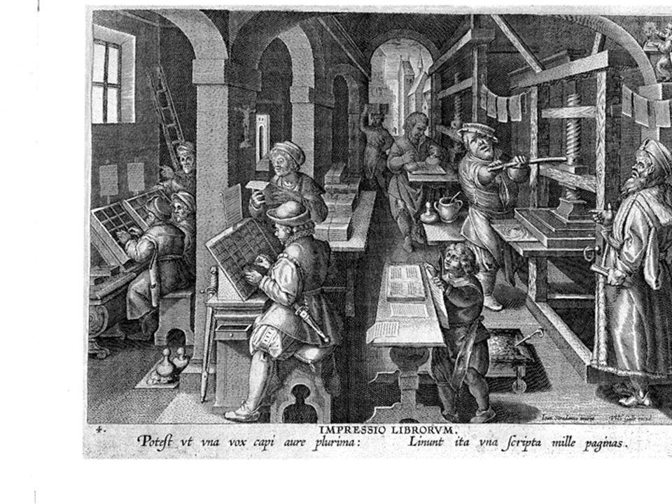Incisione in Garzoni, La Piazza universale di tutte le professioni del mondo, edizione dell'inizio del '600.
