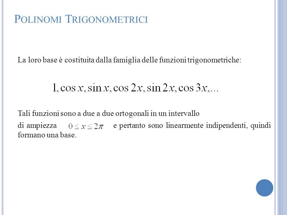 Polinomi Trigonometrici