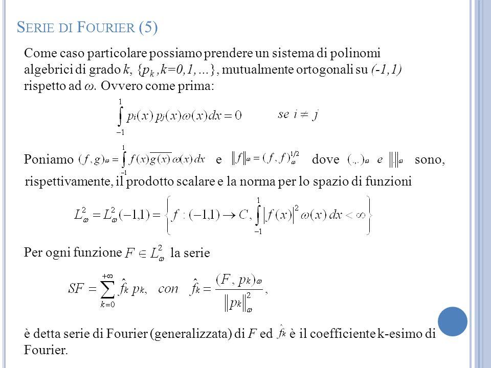 Serie di Fourier (5)