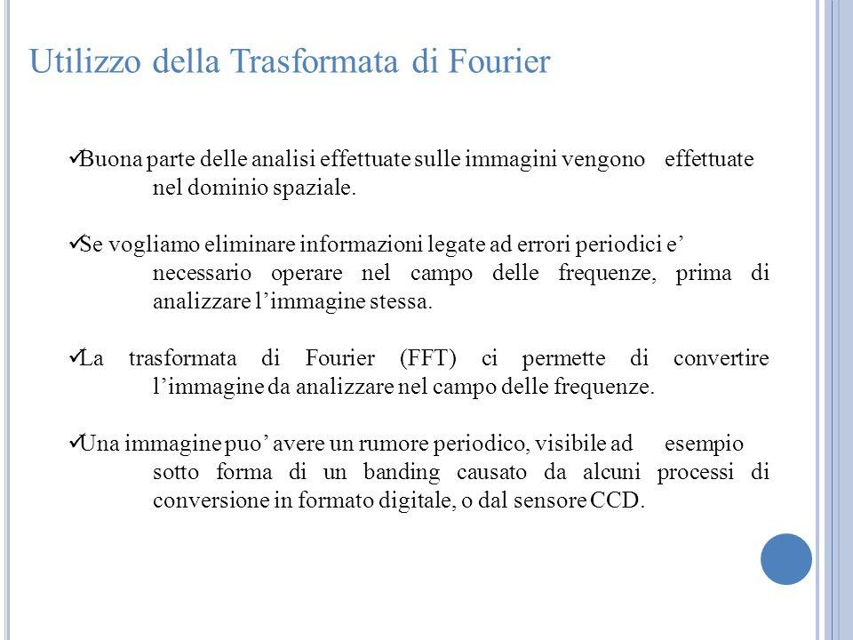 Utilizzo della Trasformata di Fourier