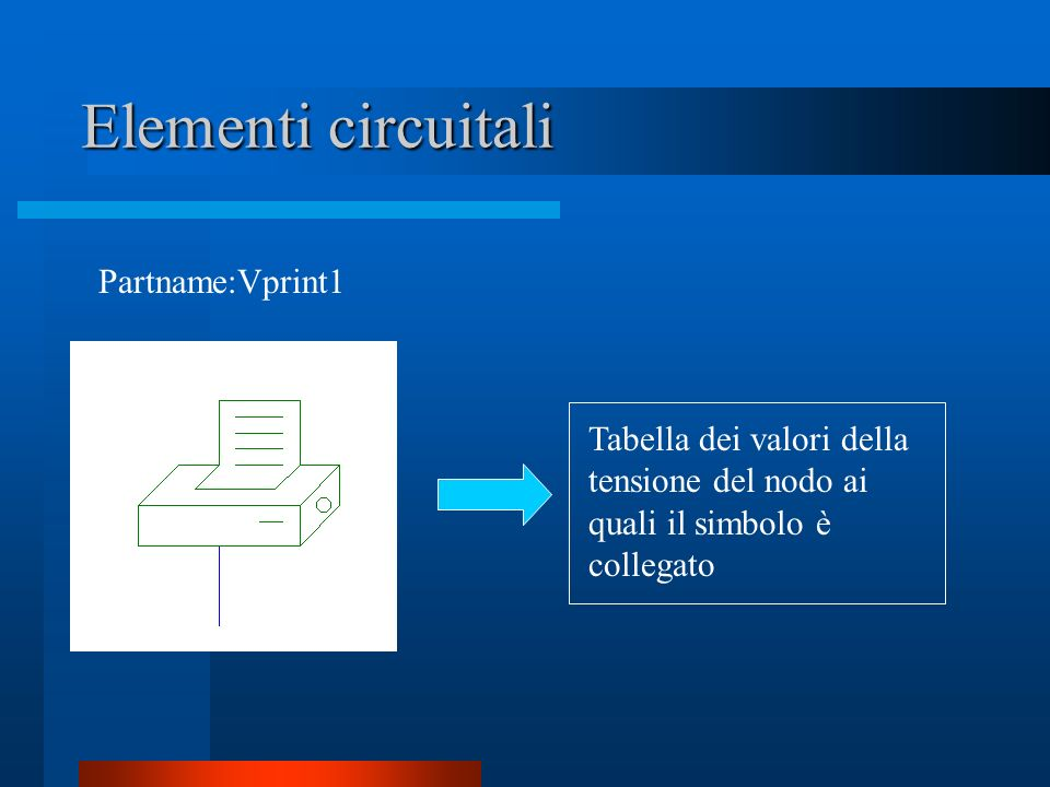 Elementi circuitali Partname:Vprint1