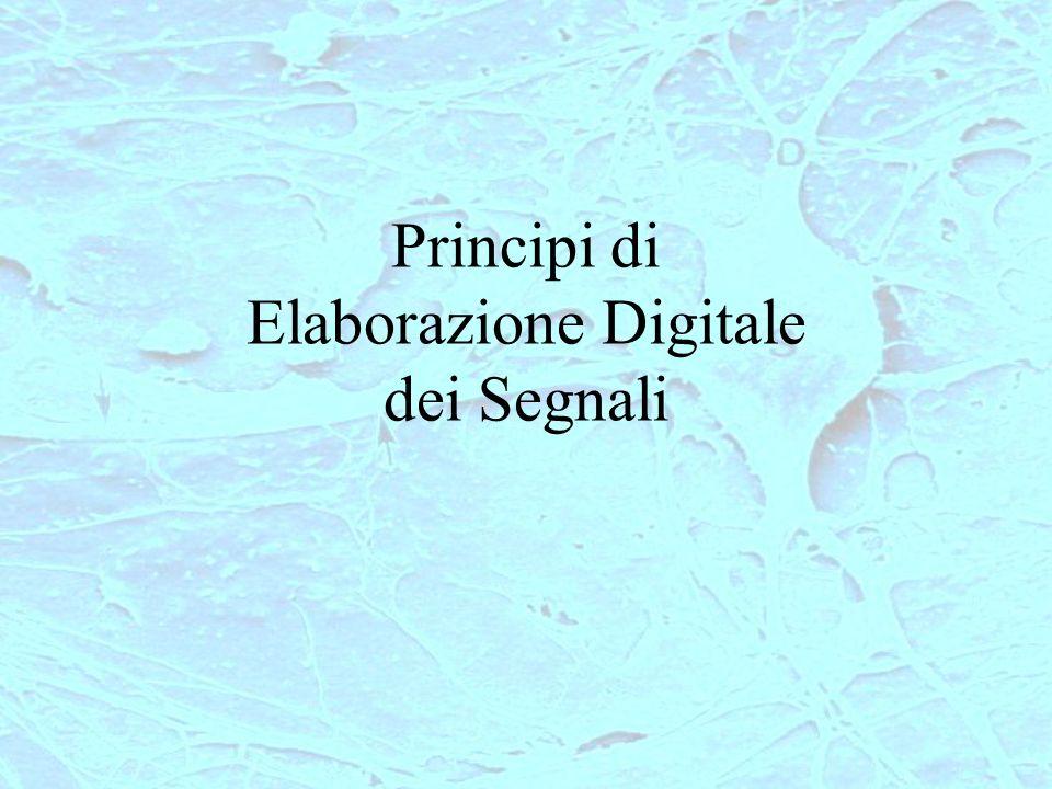 Principi di Elaborazione Digitale dei Segnali