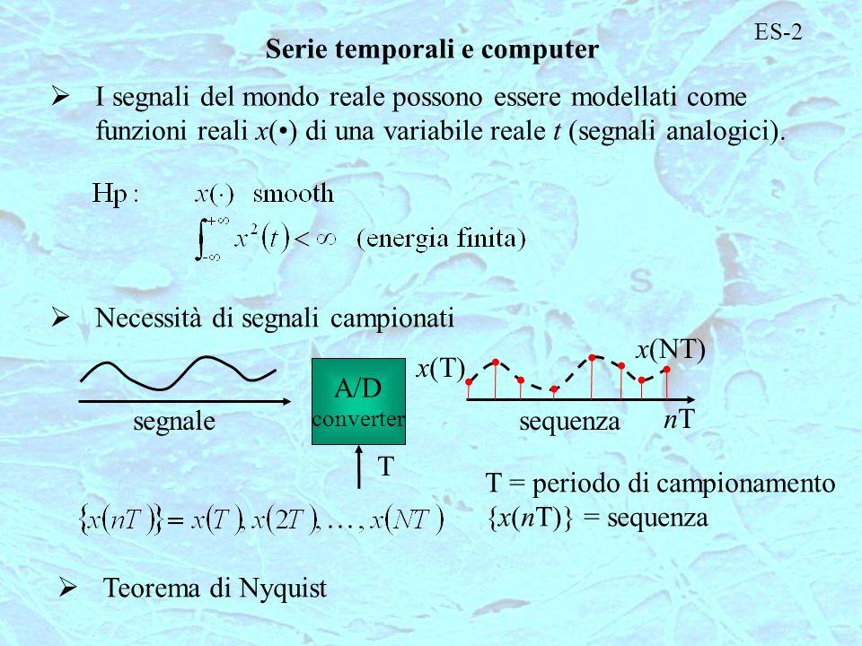 Serie temporali e computer