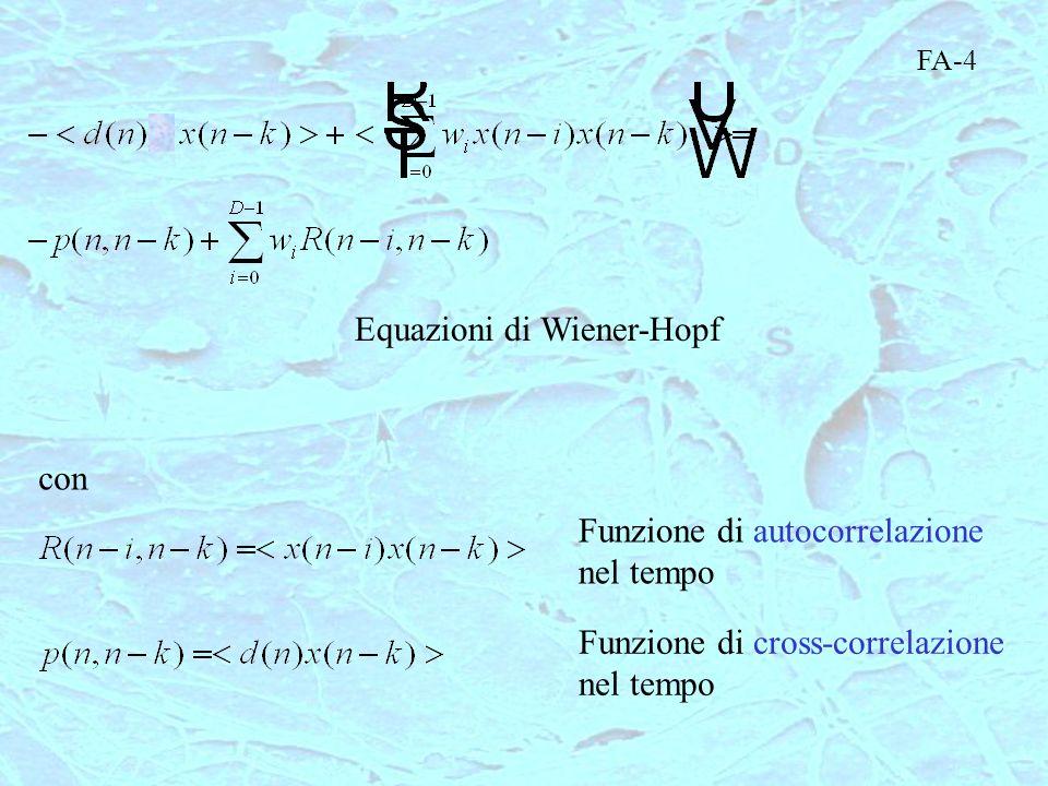 Equazioni di Wiener-Hopf