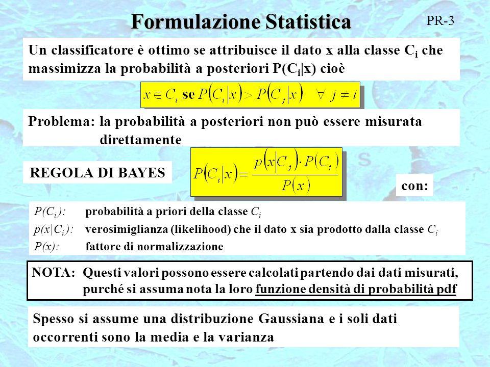 Formulazione Statistica