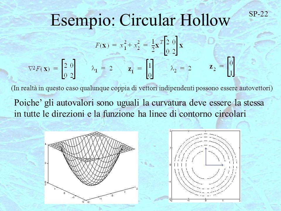 Esempio: Circular Hollow