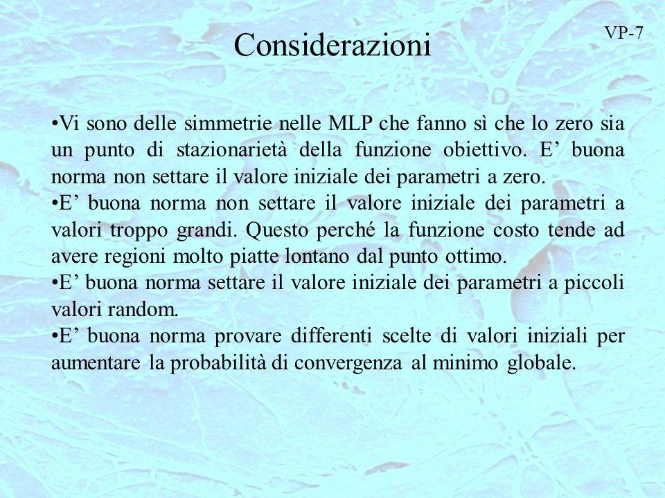Considerazioni VP-7.