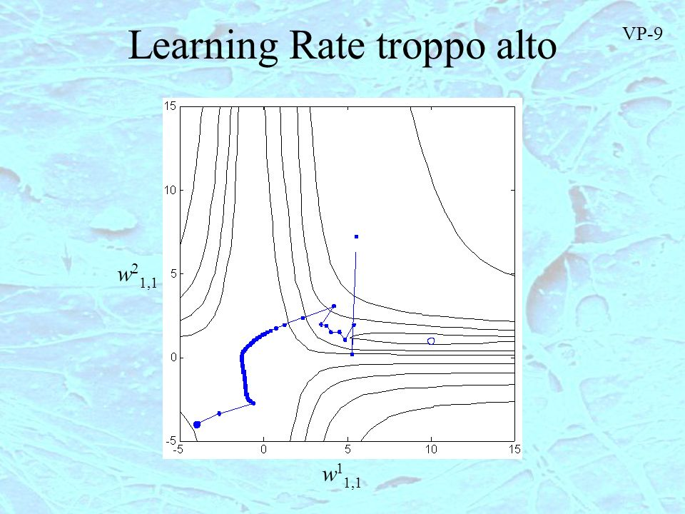 Learning Rate troppo alto
