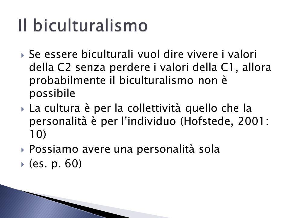 Il biculturalismo