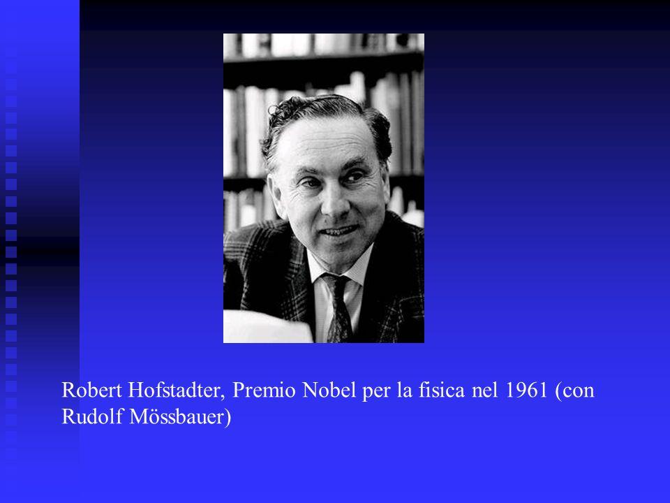 Robert Hofstadter, Premio Nobel per la fisica nel 1961 (con