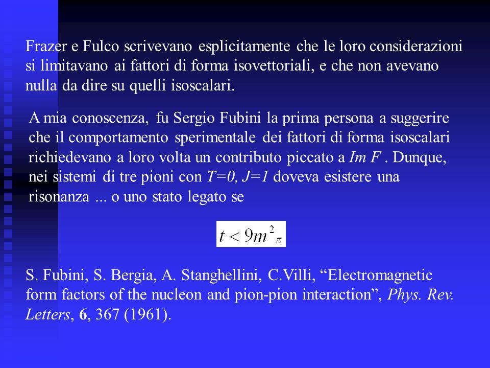 Frazer e Fulco scrivevano esplicitamente che le loro considerazioni