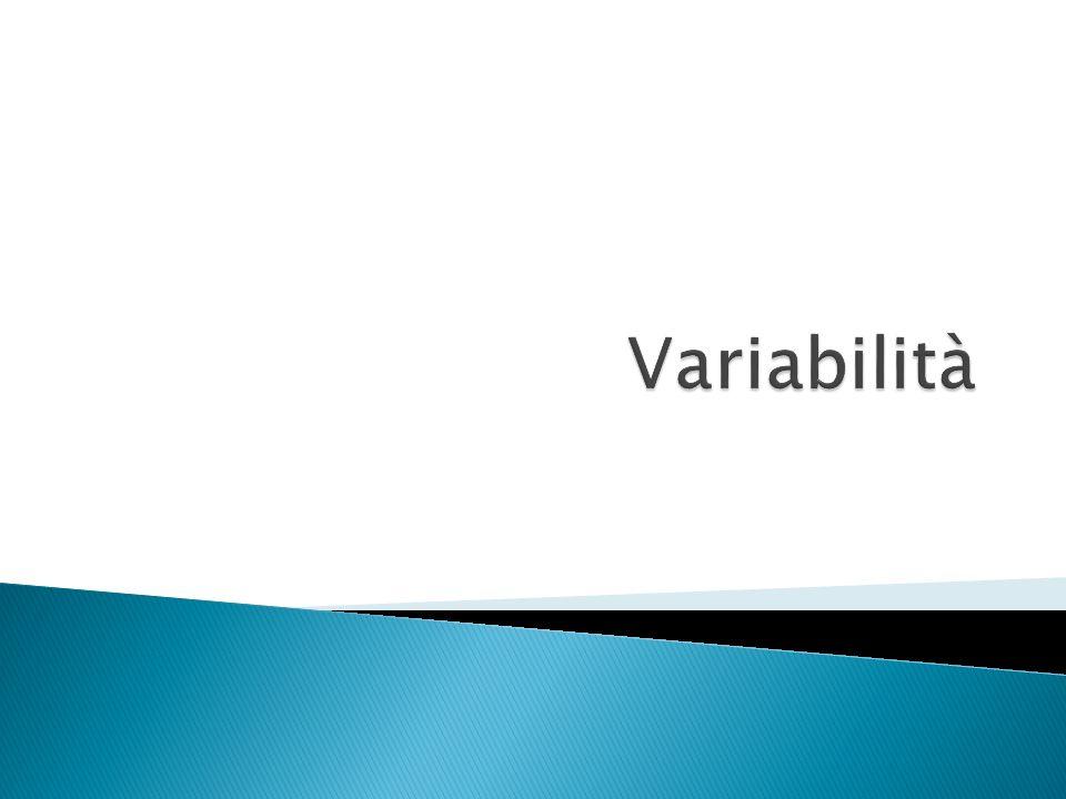 Variabilità