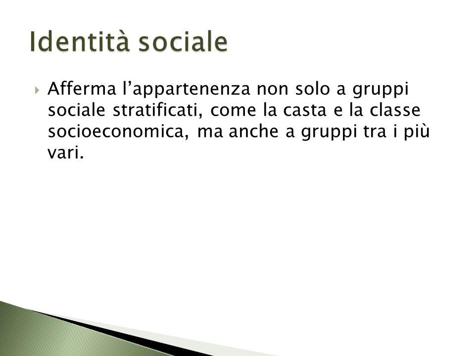 Identità sociale