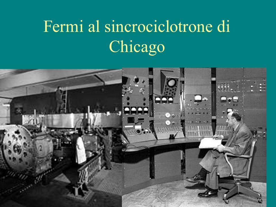 Fermi al sincrociclotrone di Chicago