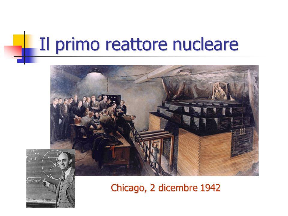 Il primo reattore nucleare