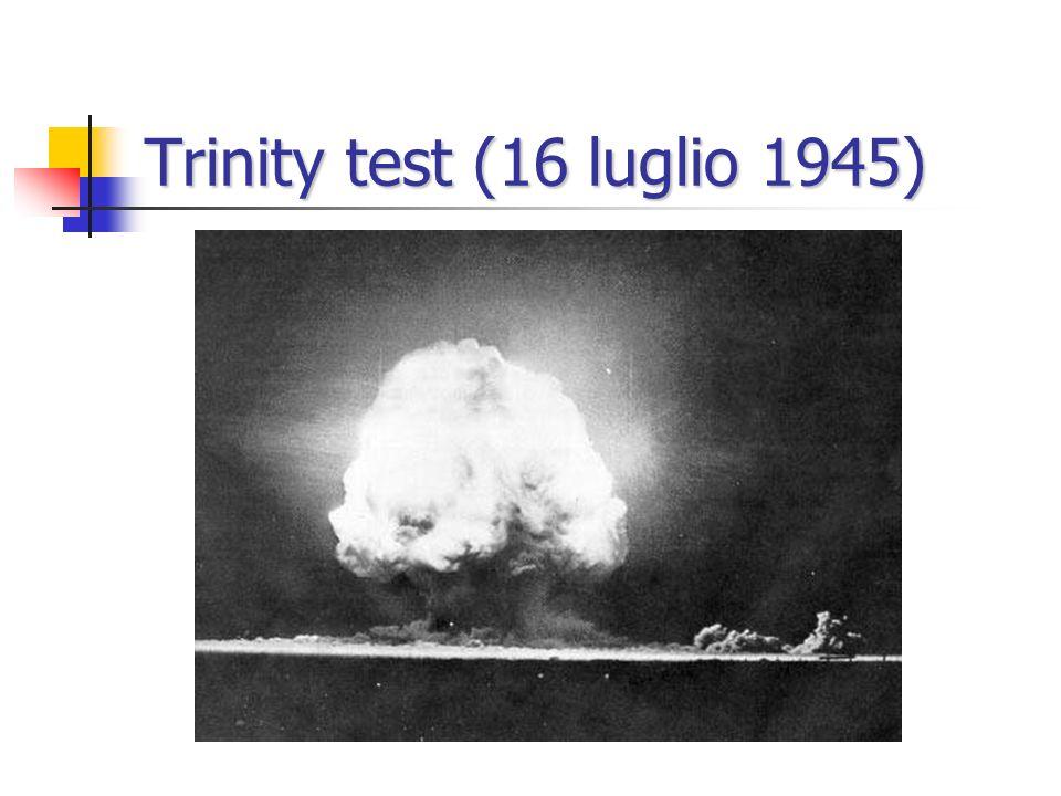 Trinity test (16 luglio 1945)