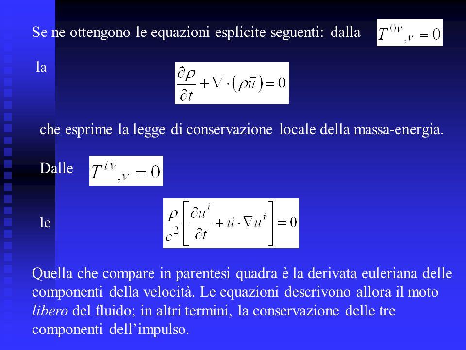 Se ne ottengono le equazioni esplicite seguenti: dalla