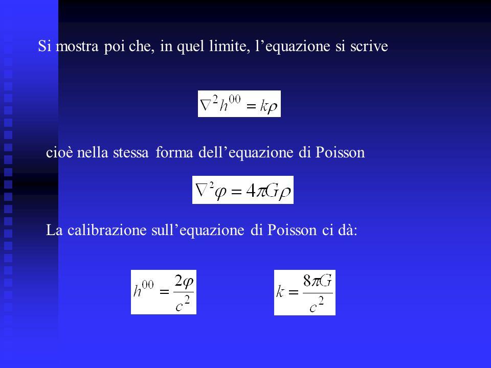 Si mostra poi che, in quel limite, l'equazione si scrive