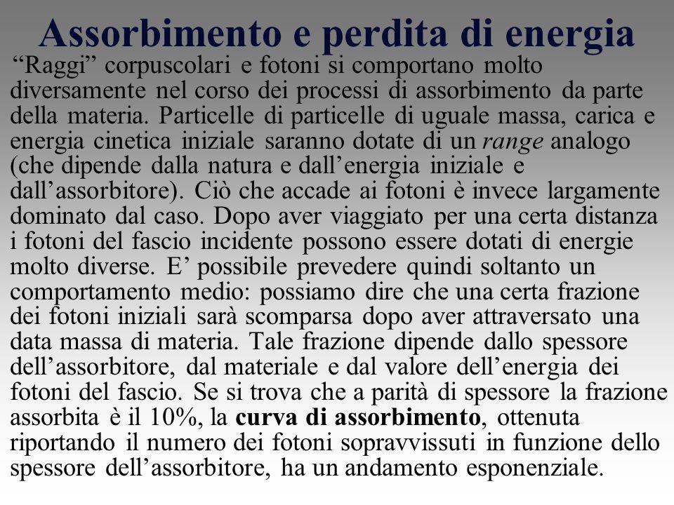 Assorbimento e perdita di energia