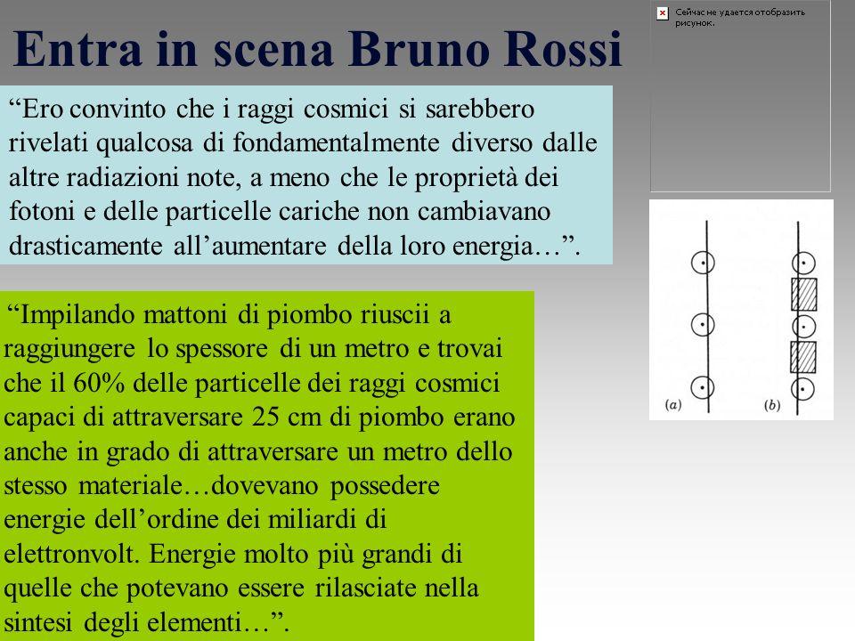 Entra in scena Bruno Rossi