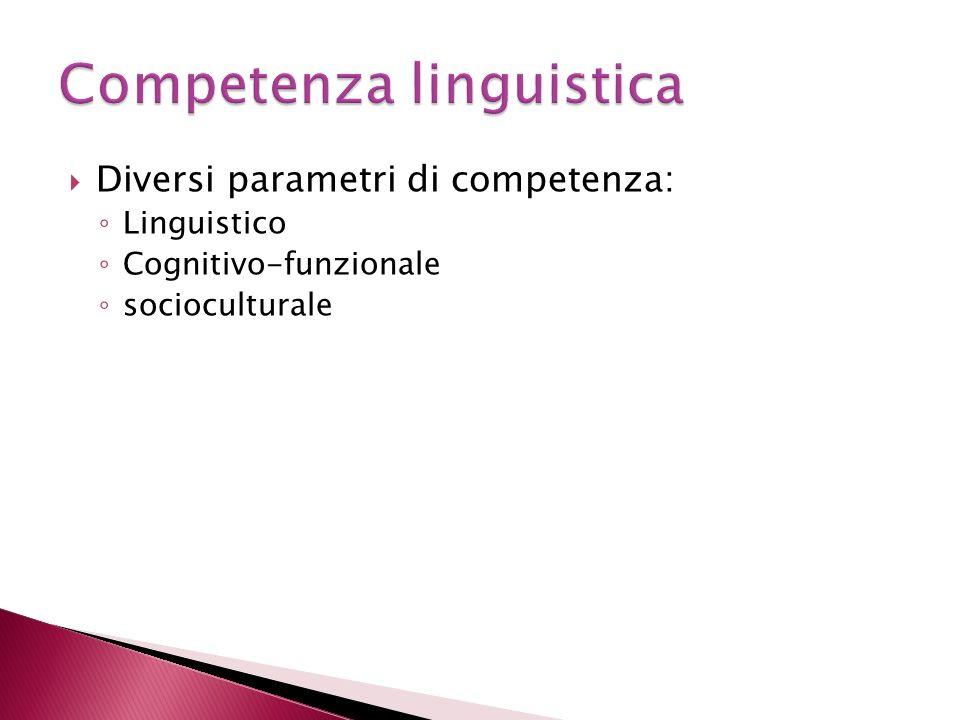 Competenza linguistica