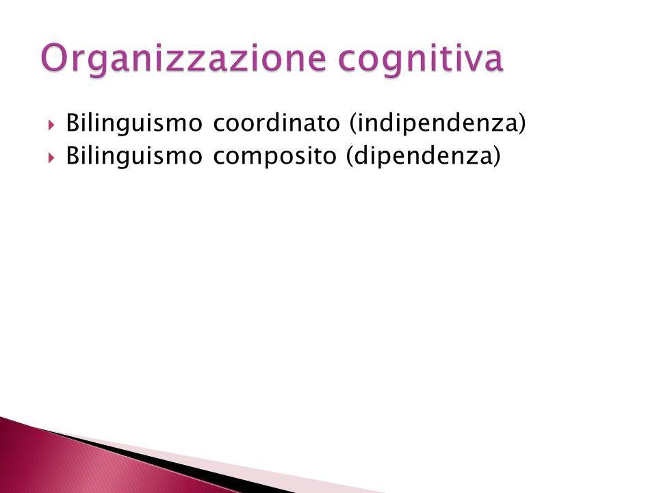 Organizzazione cognitiva
