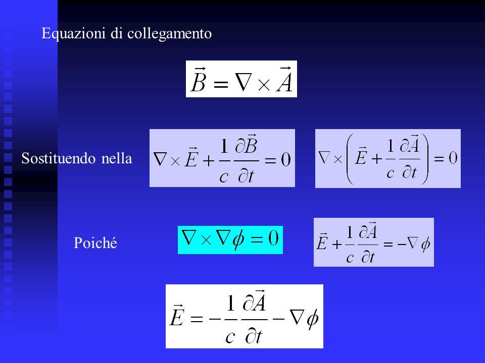 Equazioni di collegamento